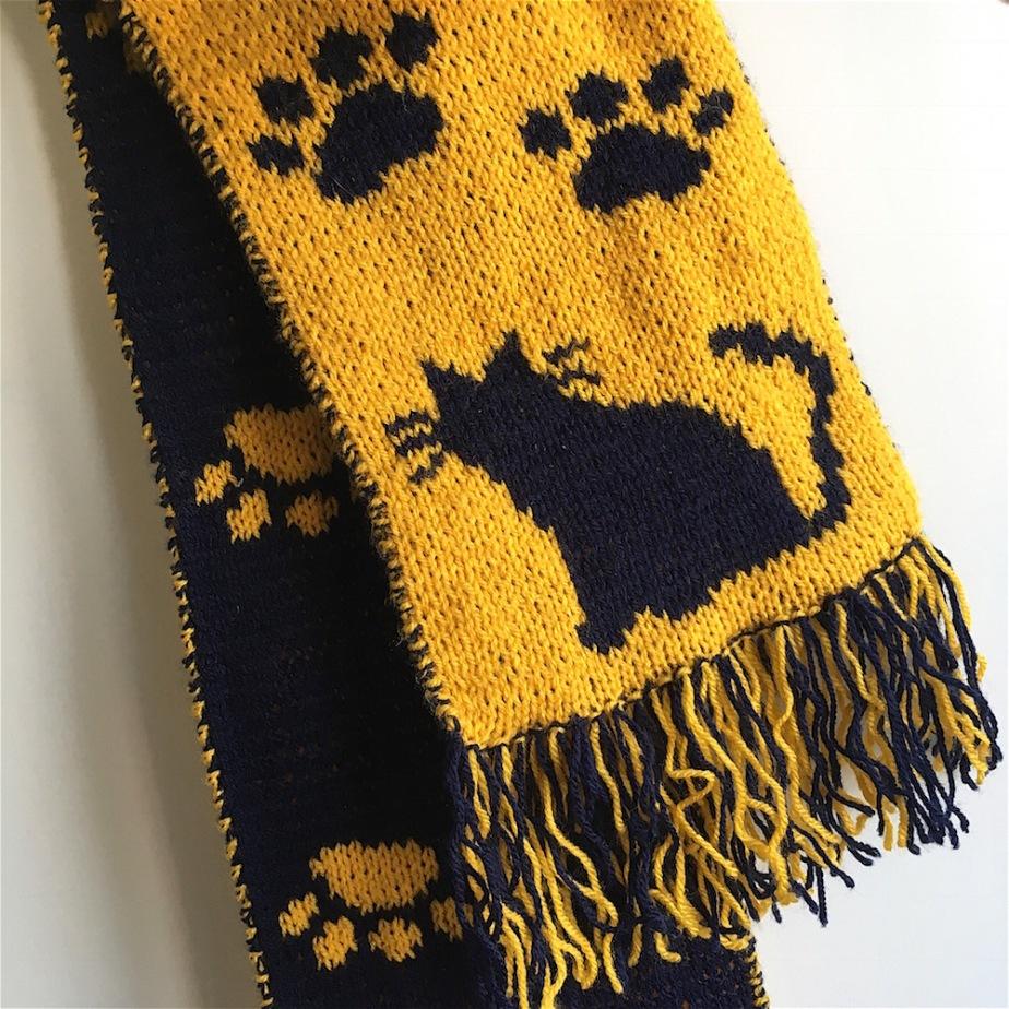 Making of: Catscarf